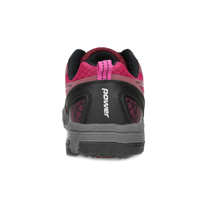 Dámské růžové sportovní tenisky power, růžová, 500-0102 - 15
