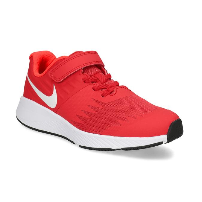 Nike Červené dětské tenisky na suchý zip - Sportovní značky  45ad56a757