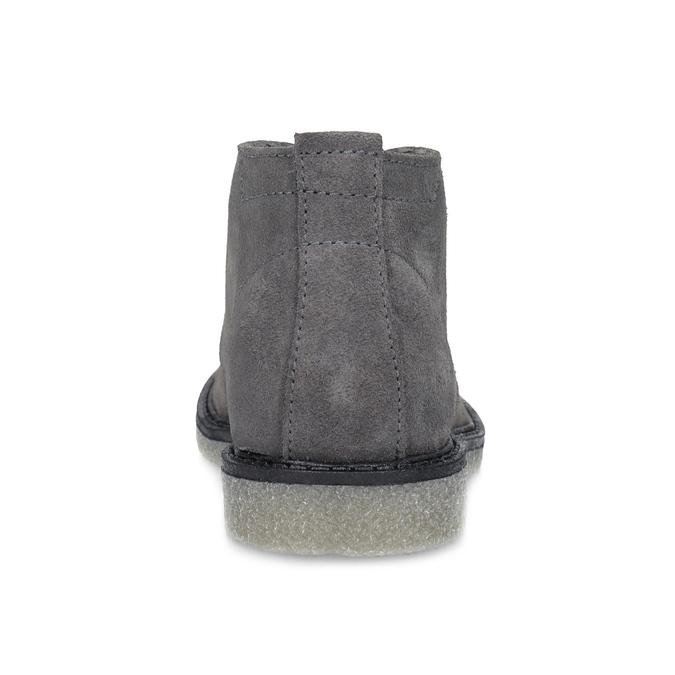 Kožená dětská kotníčková obuv mini-b, šedá, 313-2278 - 15
