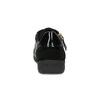 Černé ležérní tenisky s kamínky a zlatým zipem geox, černá, 523-6073 - 15