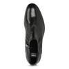 Kožená kotníčková pánská obuv s prošitím bata, černá, 824-6621 - 17