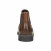 Pánská kožená obuv ve stylu Chelsea bata, hnědá, 826-3865 - 15