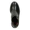 Ponožkové kožené kozačky v Chelsea stylu bata, černá, 596-6721 - 17