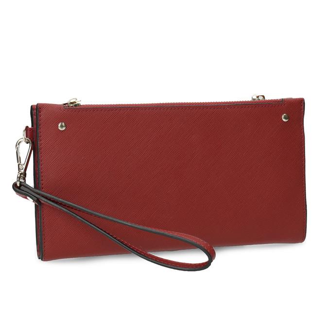 Dámská červená peněženka s řemínkem bata, červená, 941-5217 - 13
