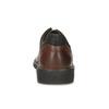 Kožené pánské polobotky s masivní podešví fluchos, hnědá, 826-3994 - 15