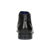 Černá kožená kotníčková obuv bugatti, černá, 814-6013 - 15