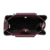 Vínová kabelka s kovovými uchy bata, červená, 961-5891 - 15