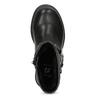 Dětské kozačky černé s mašlí mini-b, černá, 291-6132 - 17