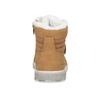 Kotníčková dětská obuv se zateplením mini-b, žlutá, 491-8652 - 15