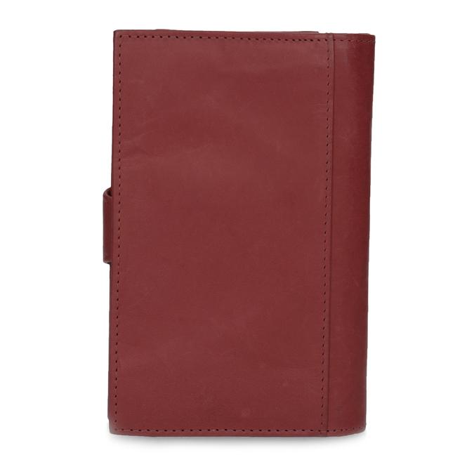 Dámská kožená peněženka bata, červená, 944-5155 - 16
