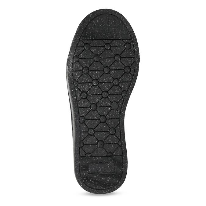 Dívčí kotníčkové tenisky s kamínky mini-b, černá, 229-6226 - 18