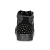 Dívčí kotníčkové tenisky s kamínky mini-b, černá, 229-6226 - 15