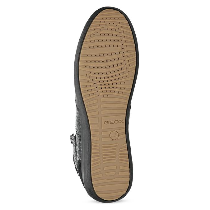 Kotníčkové tenisky dámské se zipem geox, černá, 526-6071 - 18