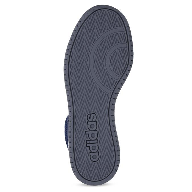 Dětské modro-žluté kotníčkové tenisky adidas, modrá, 401-9345 - 18