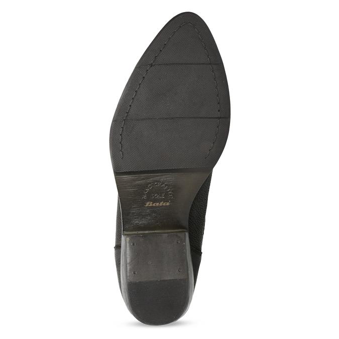 Dámská kotníčková obuv s pružením hnědá bata, hnědá, 596-4969 - 18