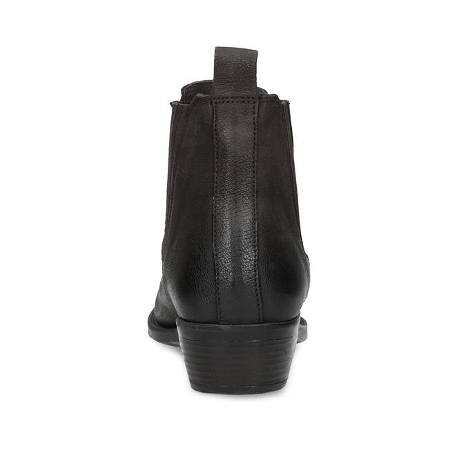 Dámská kotníčková obuv s pružením hnědá bata, hnědá, 596-4969 - 15