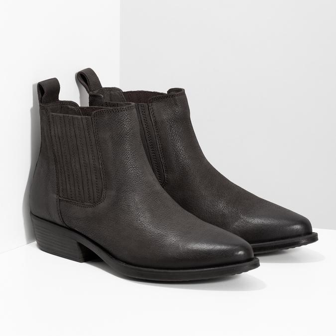 Dámská kotníčková obuv s pružením hnědá bata, hnědá, 596-4969 - 26