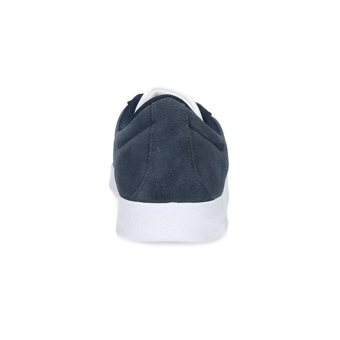 Pánské tenisky z broušené kůže adidas, modrá, 803-9379 - 15