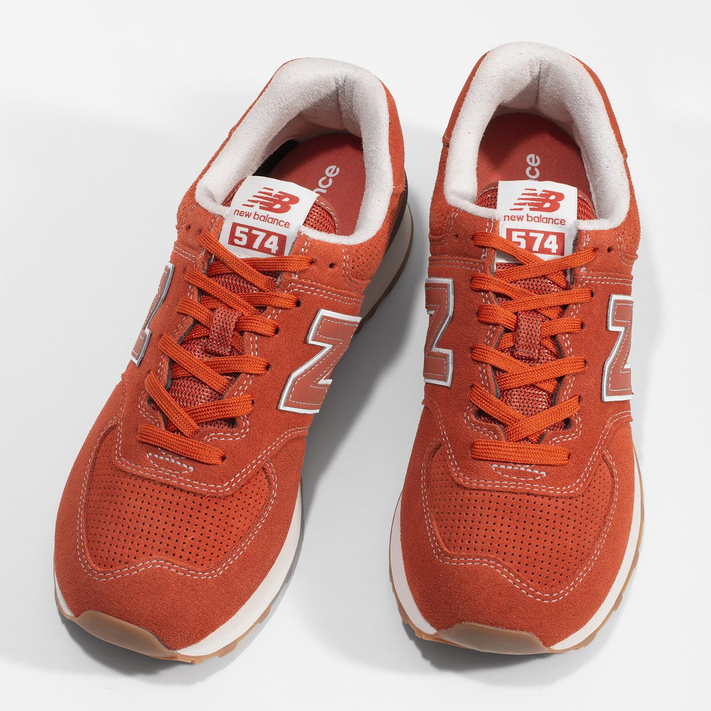New Balance Červené pánské sportovní tenisky - Městský styl  4805b6c19e