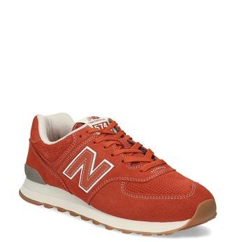 Červené pánské sportovní tenisky new-balance, oranžová, 803-5174 - 13