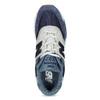 Pánské tenisky z broušené kůže new-balance, modrá, 803-9171 - 17