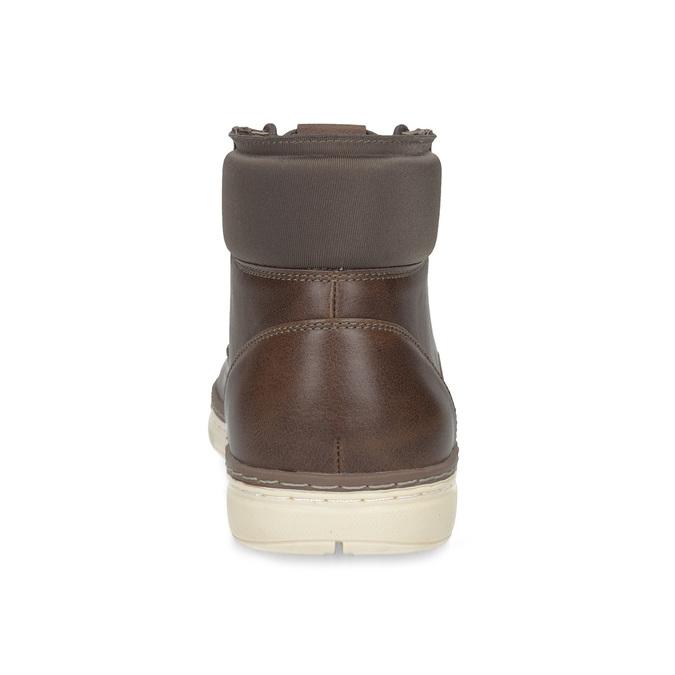 Pánská kotníčková obuv tmavě hnědá bata-red-label, hnědá, 821-4602 - 15