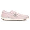 Růžové dámské tenisky z broušené kůže new-balance, růžová, 503-5172 - 19