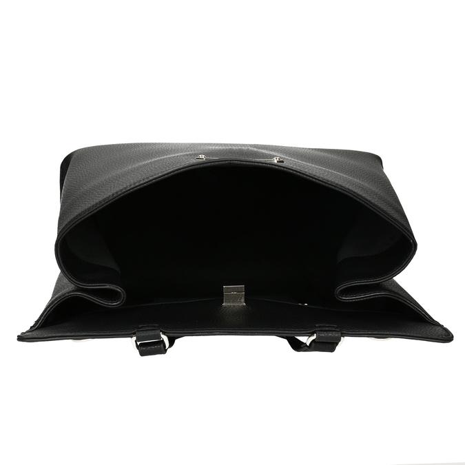 Černá kabelka s mašlí bata-red-label, černá, 961-6896 - 15