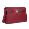 Červená kabelka se zámečkem bata-red-label, červená, 961-5902 - 13