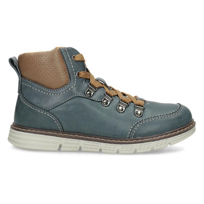 Modrá dětská kotníčková obuv mini-b, modrá, 311-9614 - 19