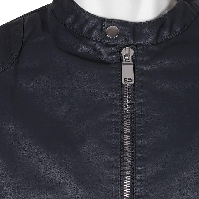 Pánská modrá bunda s výrazným zipem bata, modrá, 971-9221 - 16