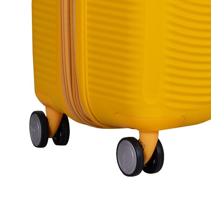 Žlutý kufr na kolečkách american-tourister, žlutá, 960-8614 - 16