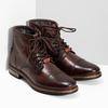 Zimní pánská kotníčková obuv kožená bugatti, hnědá, 896-3023 - 26