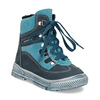 Modrá dětská kožená kotníčková obuv mini-b, modrá, 296-9602 - 13