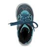 Modrá dětská kožená kotníčková obuv mini-b, modrá, 296-9602 - 17