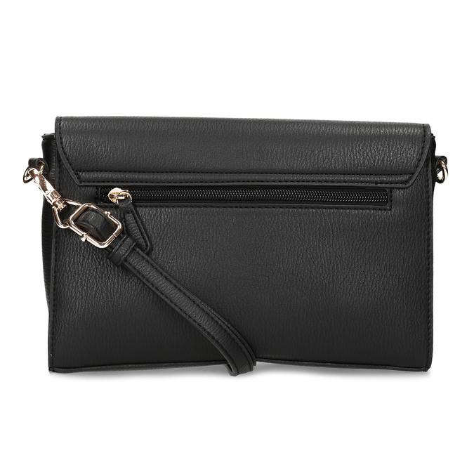 Černá dámská kabelka s květinami picard, černá, 961-6040 - 16