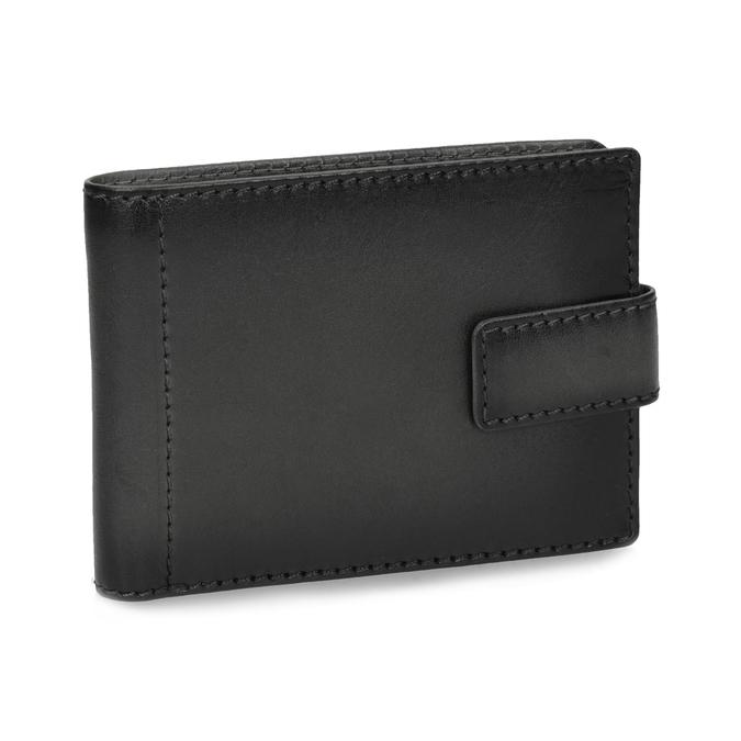 Kožená černá pánská peněženka bata, černá, 944-6219 - 13