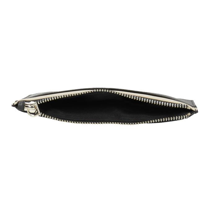 Kožená kapsička s poutkem bata, černá, 944-6222 - 15
