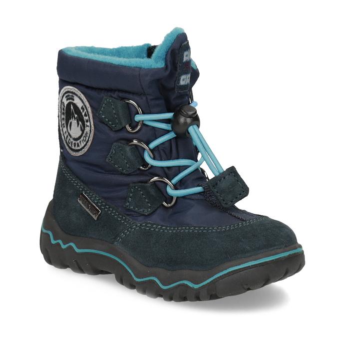 Bubblegummers Dětské zimní boty modré - Všechny chlapecké boty  a22d7a2a45