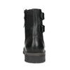 Pánská kožená zimní obuv černá bata, černá, 896-6735 - 15