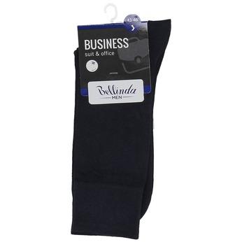 Pánské černé vysoké ponožky bellinda, modrá, 919-9700 - 13