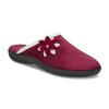 Dámské zateplené nazouváky červené bata, červená, 579-5632 - 13