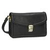 Černá pánská kožená taška do ruky bata, černá, 964-6315 - 13