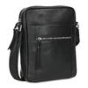 Pánská kožená Crossbody taška bata, černá, 964-6311 - 13