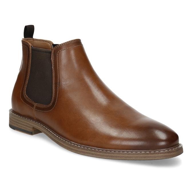 Pánská hnědá Chelsea obuv bata-red-label, hnědá, 821-3611 - 13