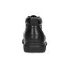Pánská kožená kotníčková obuv comfit, černá, 894-6701 - 15