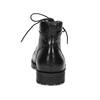 Pánská kotníčková obuv černá lesklá bata, černá, 896-6720 - 15