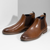 Pánská hnědá Chelsea obuv bata-red-label, hnědá, 821-3611 - 16