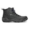 Pánská kožená outdoor obuv weinbrenner, černá, 896-6706 - 19