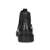 Kožená pánská zimní obuv v Chelsea stylu bata, černá, 896-6714 - 15
